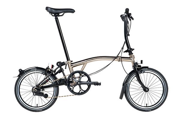 Sepeda Lipat - Brompton Nickel S6R