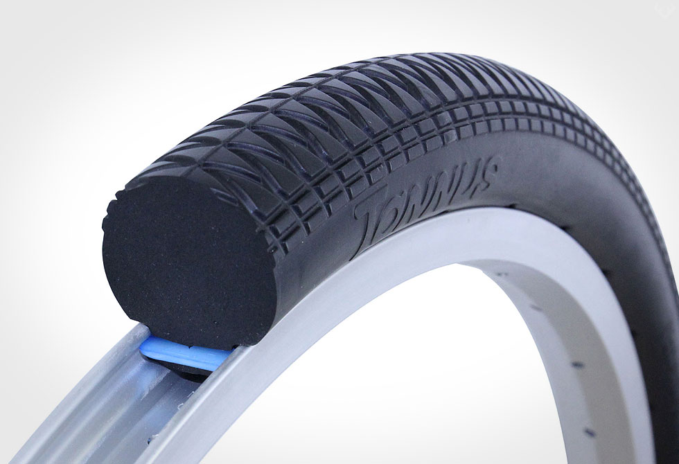 Ban sepeda solid rubber