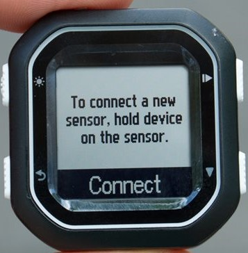 Connect sensor Garmin Edge 25