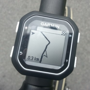 Map Garmin Edge 25