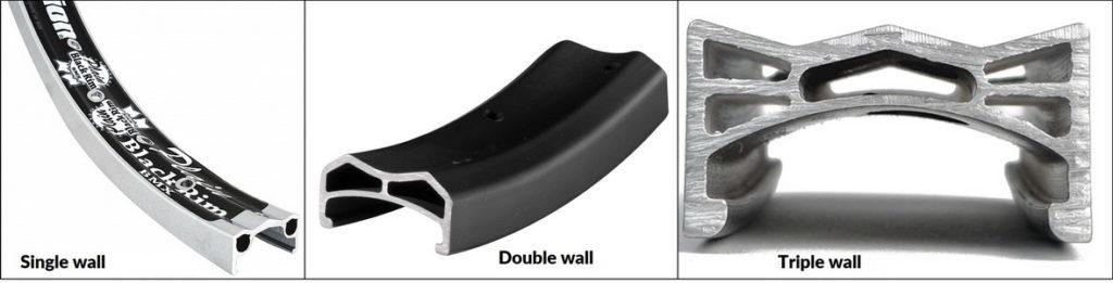 Single-Double-Triple Wall Rim