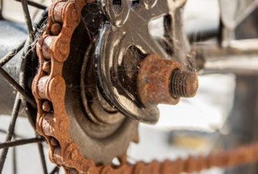 karat pada sepeda