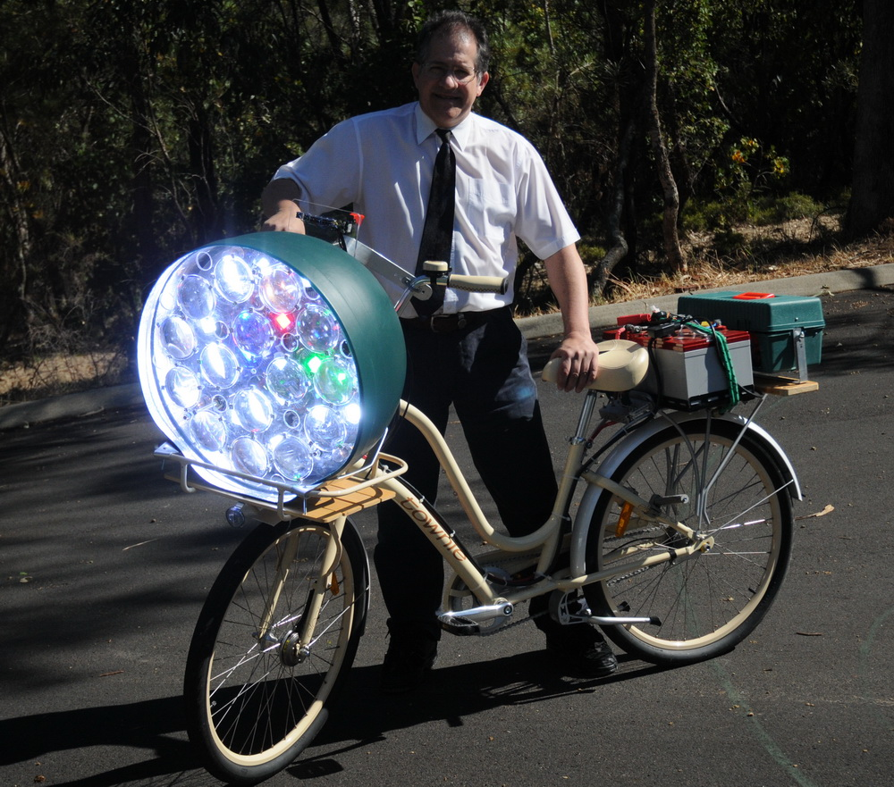 Baterai sepeda yang overweight