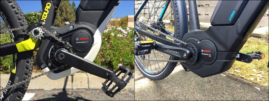 Center Drive Motor pada sepeda listrik