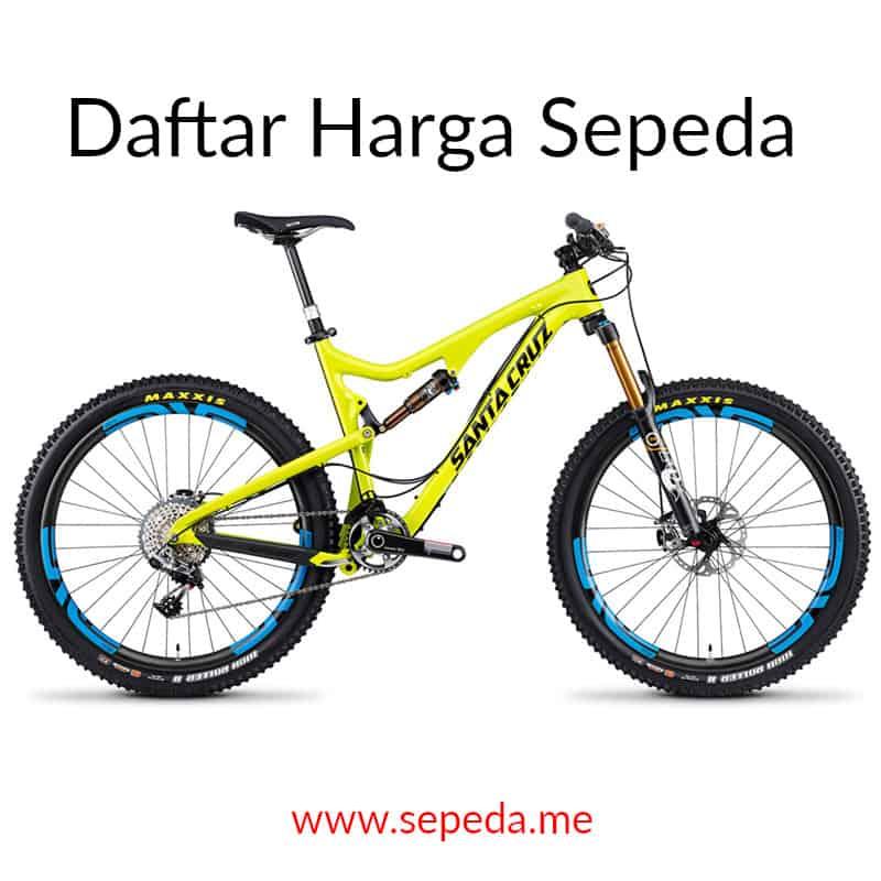 Daftar Harga Sepeda Terbaru