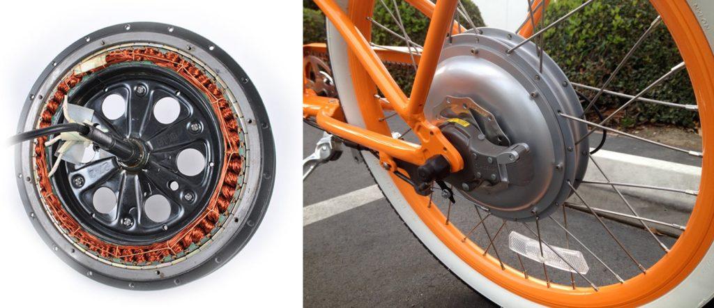 Direct Drive Motor pada sepeda listrik