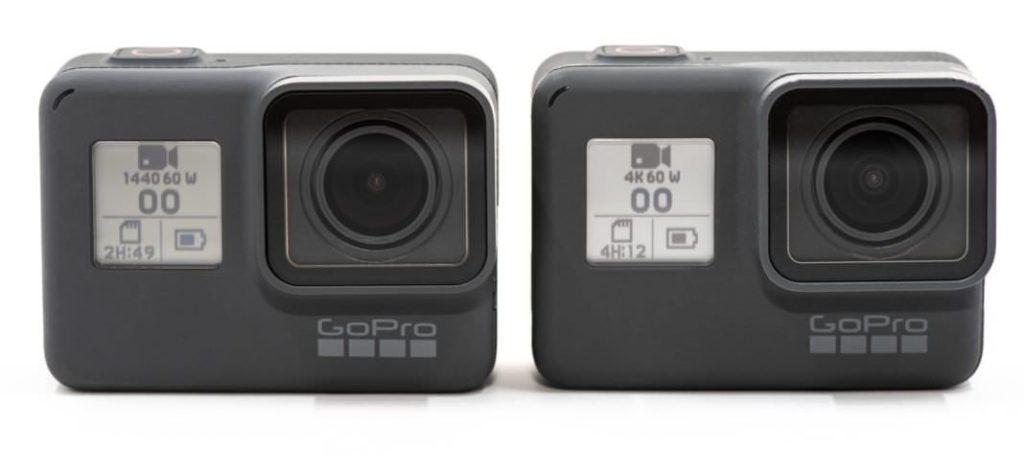 GoPro Hero 6 Black vs 7 Black