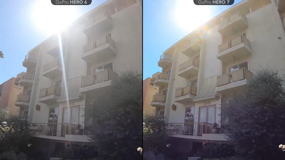 Kualitas gambar GoPro Hero 6 vs 7
