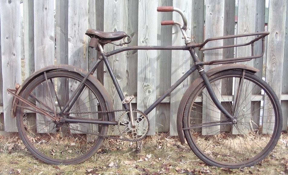 Menyelamatkan sepeda tua