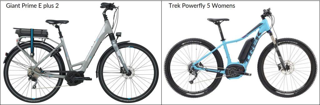 Posisi baterai pada sepeda listrik