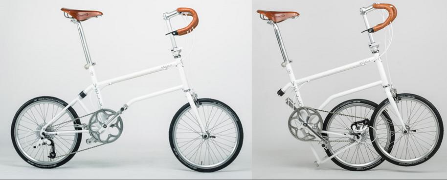 Sepeda Lipat dengan magnet