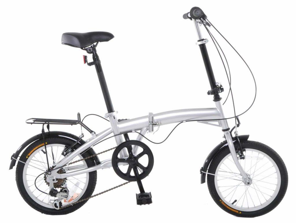 Triangle Hinge APEX 16″ Folding Bike Shimano 6 Speed