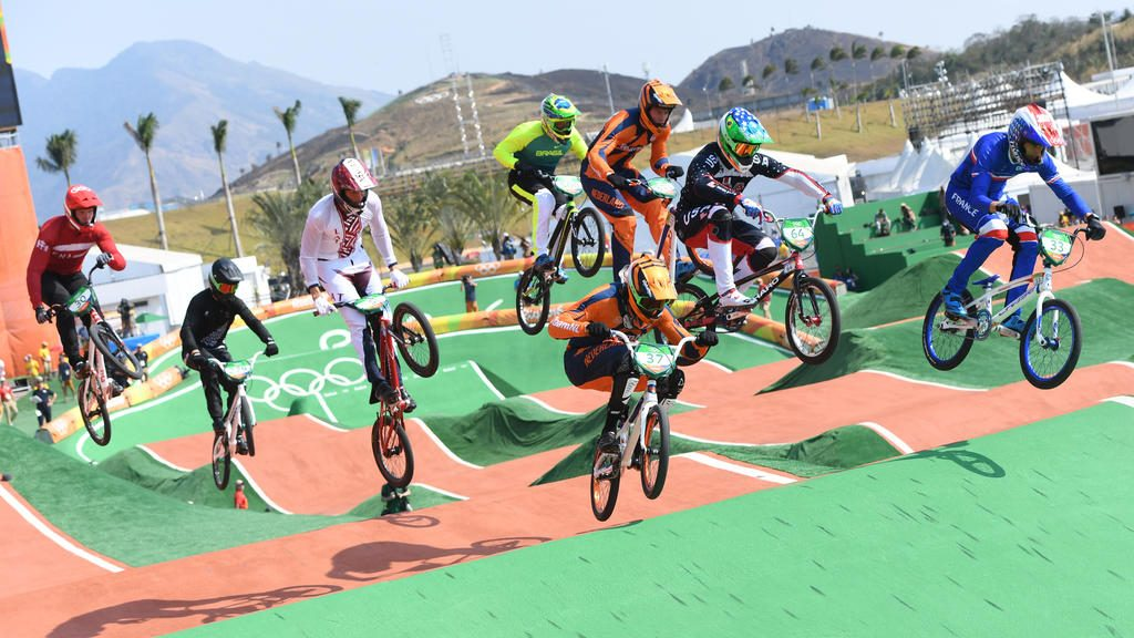 BMX Race Olympic Games 2016