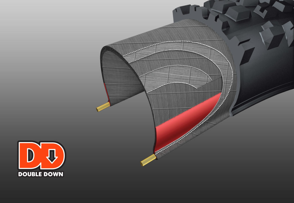 DD DoubleDown Puncture Technology Ban Sepeda Maxxis