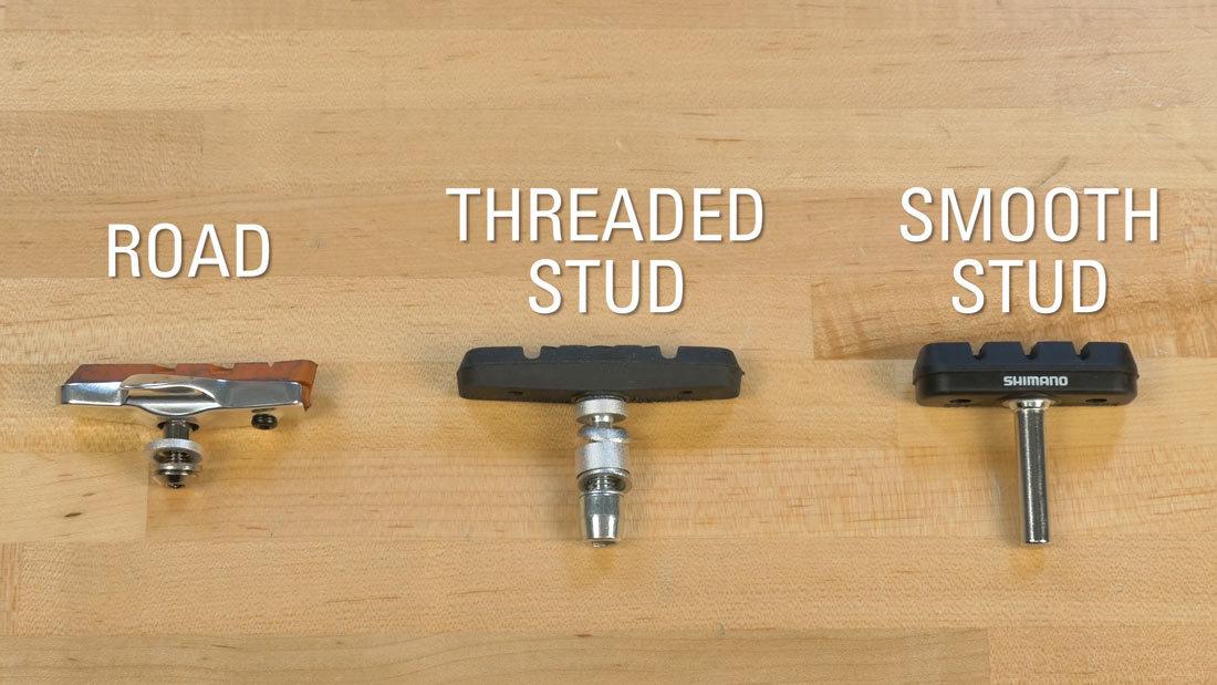 Jenis pad karet pada rem sepeda rim brake