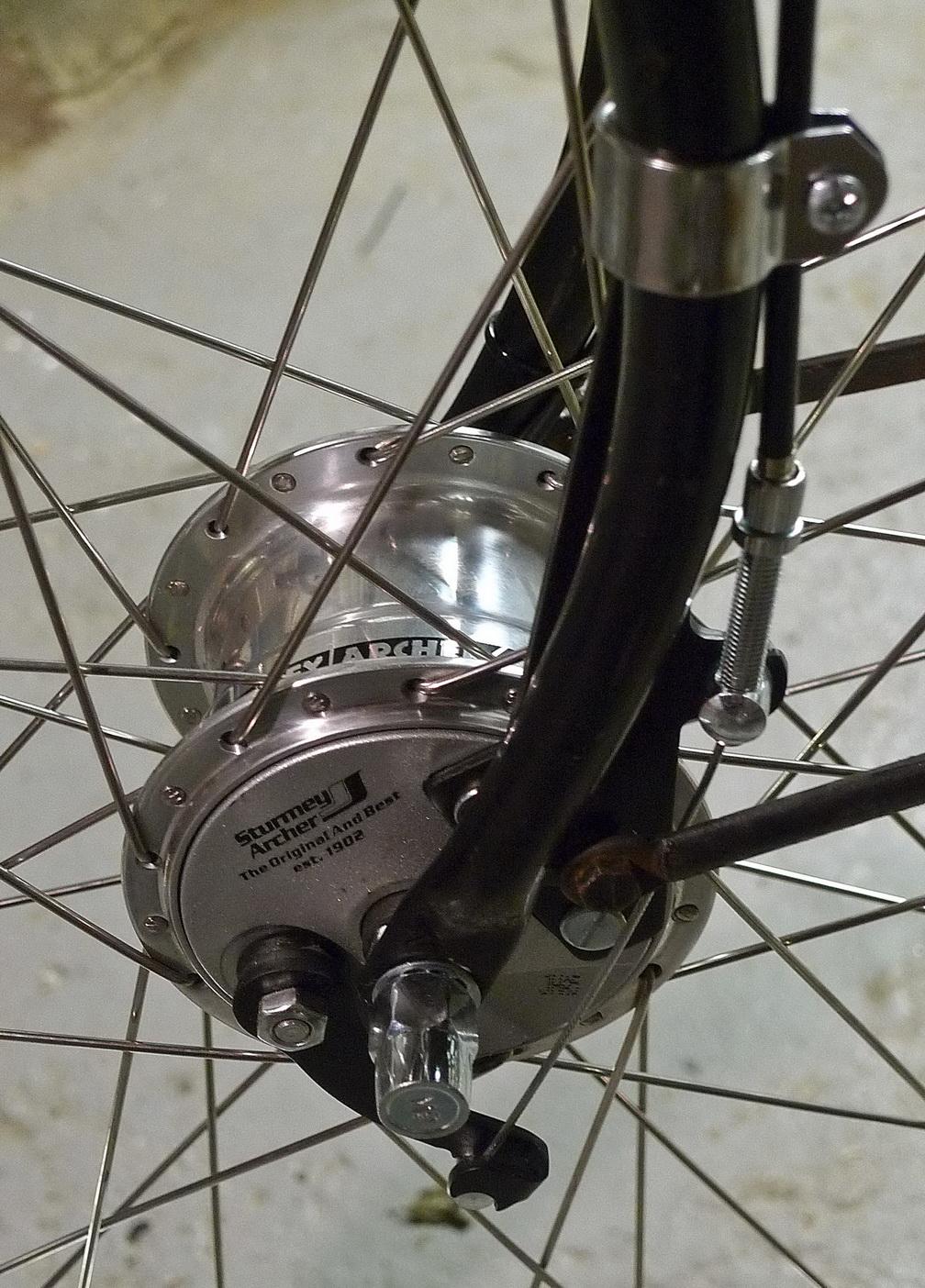 Pemakaian Drum brake pada sepeda