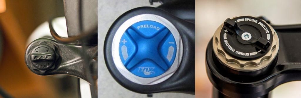 Preload spring setting suspensi sepeda