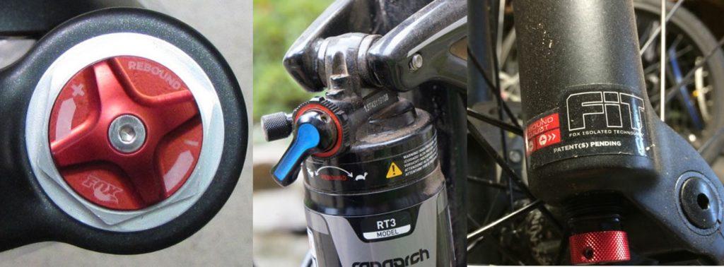 Rebound setting suspensi sepeda