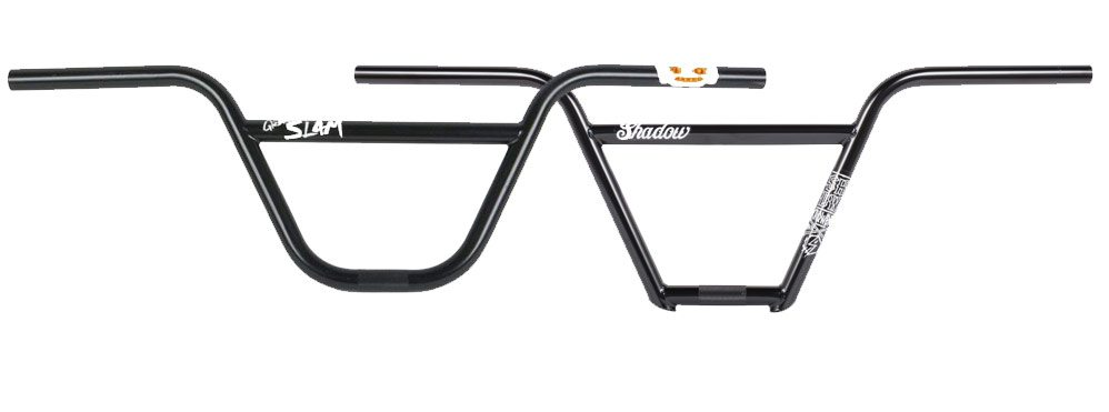 Sambungan pada bmx handlebars (two pieces kiri, four pieces kanan)