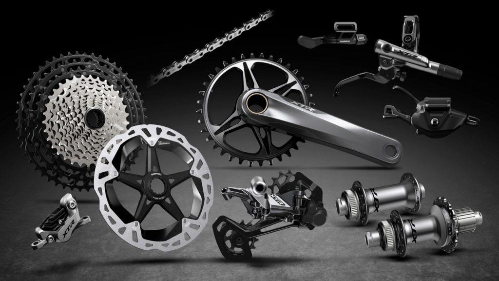 Shimano XTR M9100 Series Groupset Sepeda Gunung