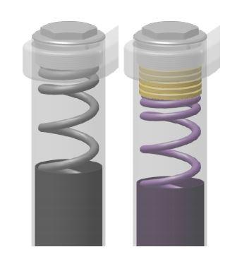 Spacer pada spring coil atau per