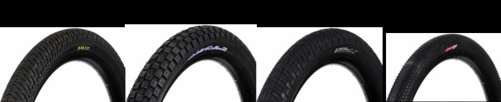 Thread pada BMX tyre