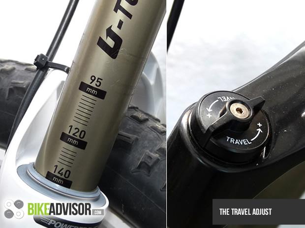 Travel adjust setting suspensi sepeda