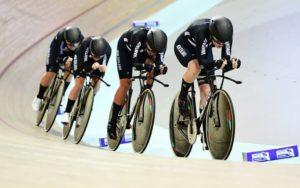 Balap Sepeda Track Team Pursuit