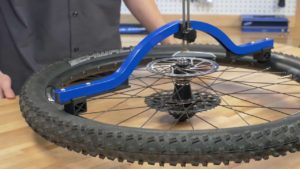 Bike Wheel Alignment - Dishing Tool