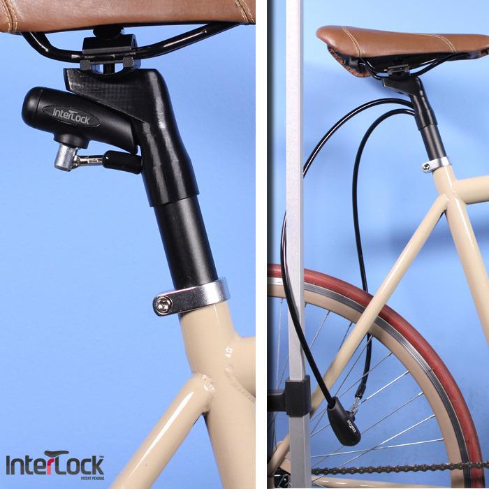 Interlock - Gembok sepeda yang disimpan dalam seat post