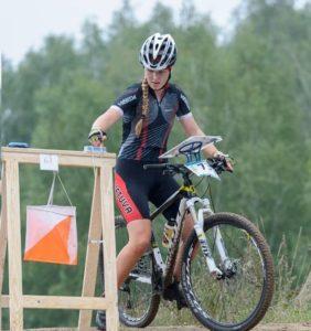 Patricija Babrauskaite - Juara dunia Mountain Bike Orienteering 2014, Poland
