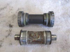 internal vs eksternal bottom bracket sepeda