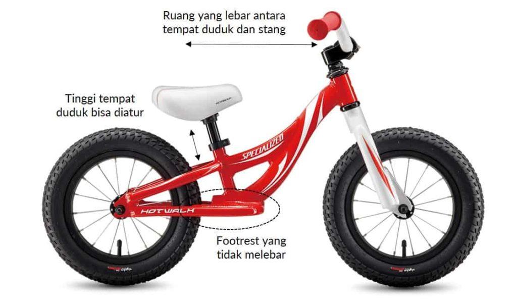 Balance bike Specialized Hot Walk