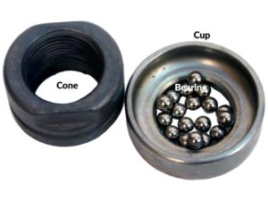 Bearing jenis Cup and Cone