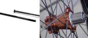 Jari-jari dan Hub sepeda Straight Pull
