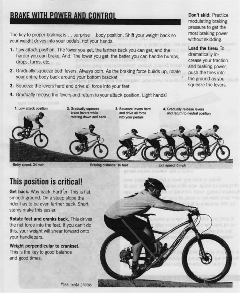 Menghentikan sepeda dengan baik dan benar