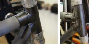 Jenis rangka sepeda karbon tube to tube