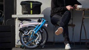 Brompton sepeda lipat yang simple