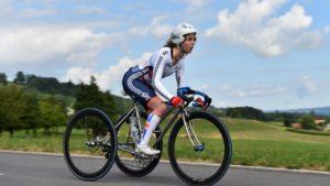 Tricycle untuk balap sepeda disabilitas