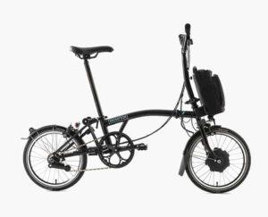 Sepeda lipat listrik Brompton