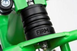 Suspensi Firm pada sepeda Brompton