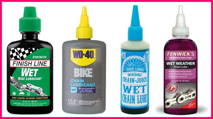 Pelumas rantai sepeda Wet Lube