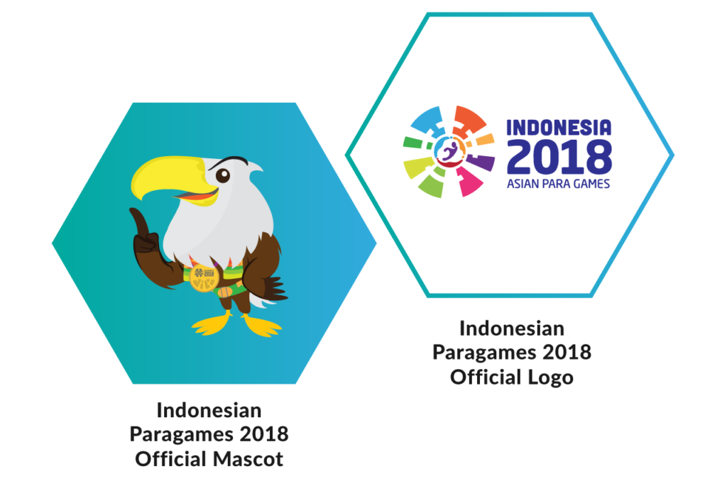 Indonesian Paragames 2018 Official Logo and Mascot
