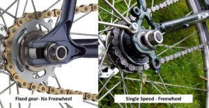 Fixed gear vs Single Speed