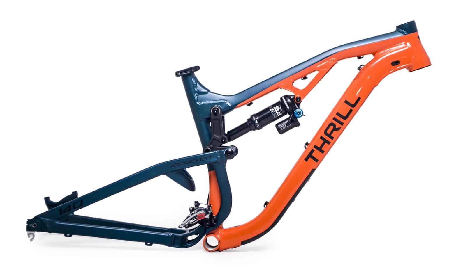 Frameset Thrill Ricochet T140 (Fox)