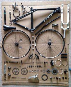 Komponen sepeda balap