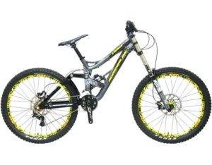 Sepeda gunung full suspension Adrenalin Agent DH Team 26