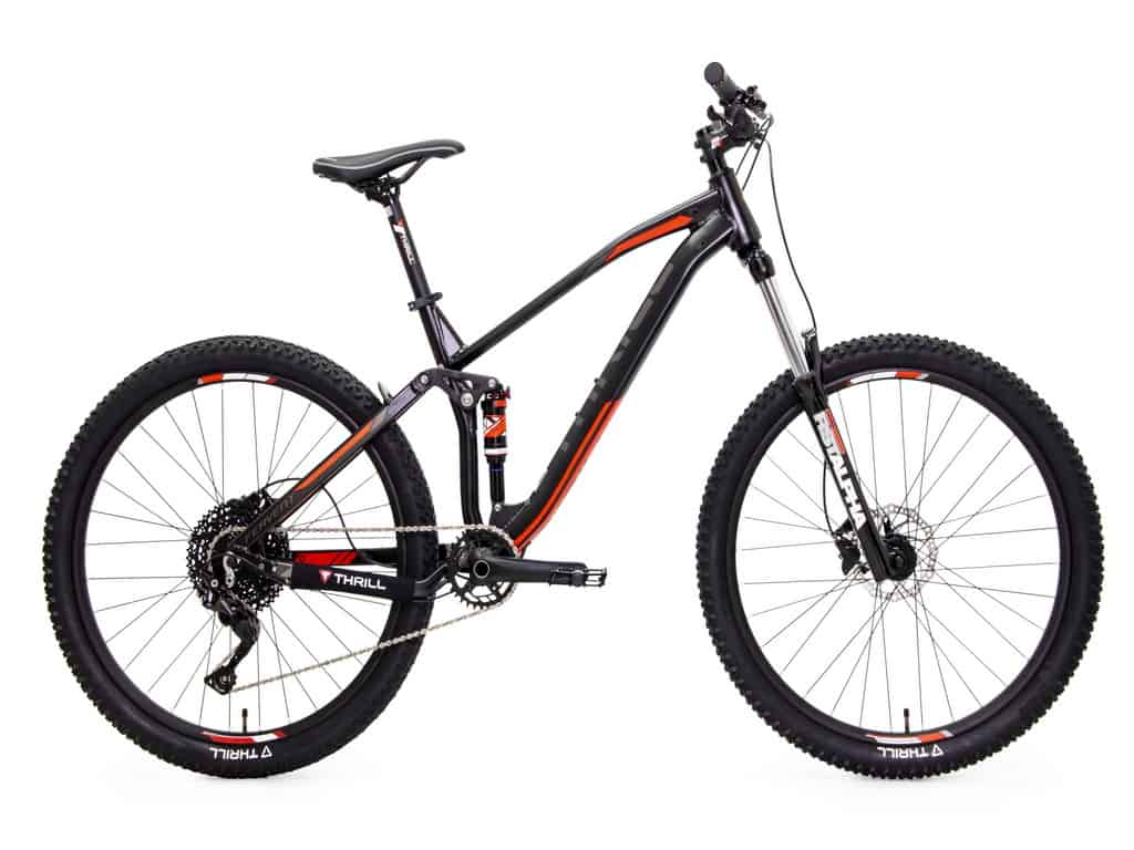 Sepeda gunung full suspension Thrill Fervent T140 Elite 27.5""