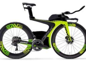 Sepeda balap TT triathlon Cervelo P5X