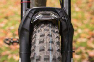 Sisa ruang kosong pada frame sepeda
